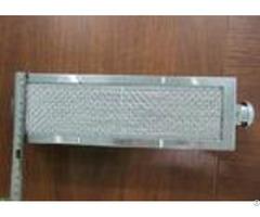 Circular Air Inlet Ceramic Infrared Gas Burner Aluminum Plate For Bbq Grill