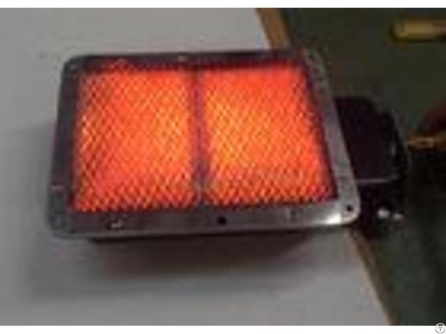 Enamelled Ceramics Natural Gas Grill Infrared Burner 272x169x62 Mm For Shawarma