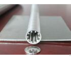 V Wire 25mm Diameter Stainless Steel Slot Tube With 0 075mm Filtering Slot