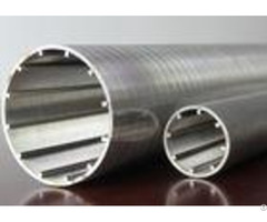 Slotted Cylindrical Wedge Wire Screen High Filtering For Hydro Treatment