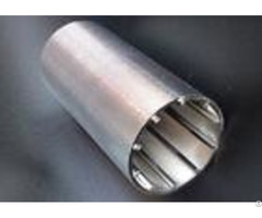 Cylindrical 37mm Wedge Wire Screen High Resistance To Vibration 6 97% Filtering Rate