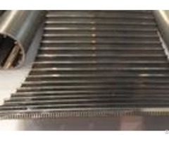 Plain Weave Ss Wedge Wire Screen Panels Stainless Steel For Iron Coal Mining Industry