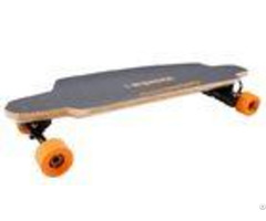 Dual Motor Kids Electric Skateboard Four Wheel With Lightweight Lithium Ion Batteries