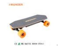 24v 1200w Longboard Electric Skateboard 8 8ah Battery With 32km H Max Speed