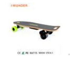 Professional Battery Powered Longboard Max Speed 30 Km H With Usb Charger