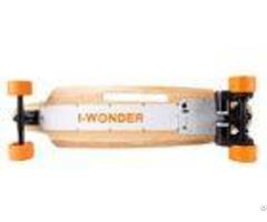 Dual Motor Longboard Electric Skateboard Fun Mode With Top Speed 16km H