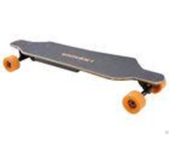 Four Wheel Remote Control Electric Longboard Sk B2 1200w 24v 8 8a Color Customized