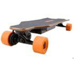 Popular 4 Wheel Drive Electric Skateboard With Bamboo Or Canada Maple Material