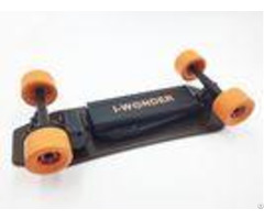 Belt Drive Long Compact Electric Skateboard 9 Layers Maple Deck Material For Outdoor Sports