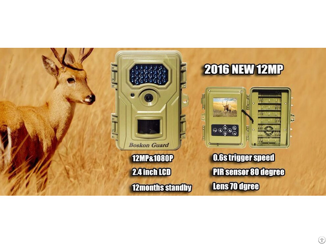 Newest Product 12mp 1080p Hunting Security Camera