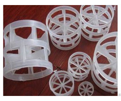 Virgin Polypropylene Manufacture Pall Ring