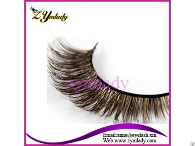 Colored Siberian Mink Fur Lashes