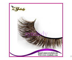 Colored Siberian Mink Fur Lashes
