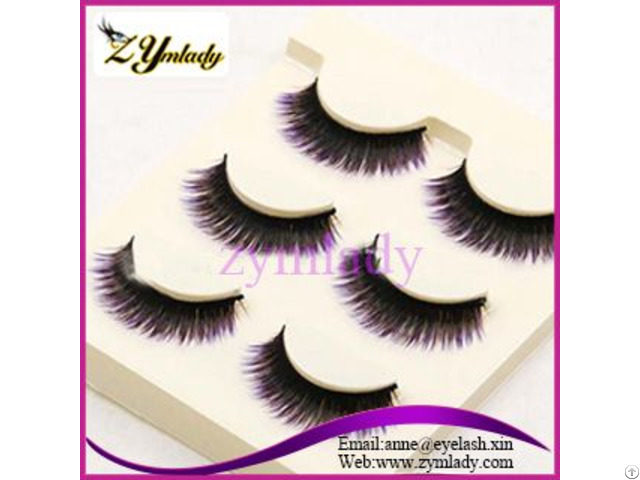 Double Layered Human Hair Lashes