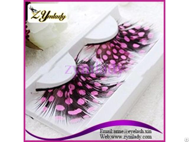Feather Eyelashes