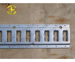 Aluminum Steel Load Restraint Track For Cargo Control