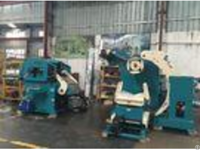 Automation Nc Servo Coil Feeder Straightener Decoiler Hydrauilc Uses 7 Leveling Roller