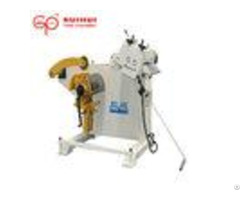 Copper Strip Coil Decoiling And Straightening Machine 200mm Width 3 Phase Power