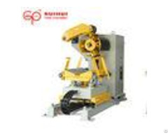 Full Automatic Hydraulic Sheet Metal Decoiler With Hold Down Arm Me 300