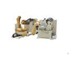 Nc Servo Automatic Feeding Machine Sheet Metal Decoiler Straightener Feeder For Stamping