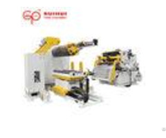 Precision Coil Decoiler Straightener Feeder For Metal Stamping Stainless Steel Motorized Uncoiler