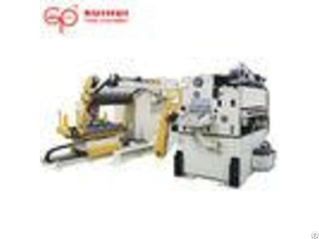 Servo Motor Driven Decoiler Straightening Auto Feeder Horizontal Movement Power