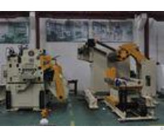 Japan Mitsubishi Plc Control Decoiler And Straightener Feeder For Press Machine