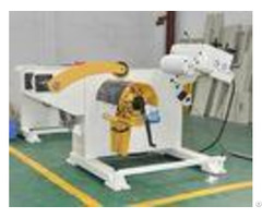 Automatic Decoiling And Hydraulic Straightening Machine With Power Press