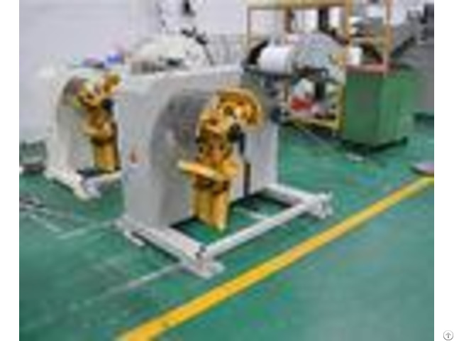 Nc Servo Feeder Straightening Steel Decoiling Machine Power Press For Leveling Metal Strip