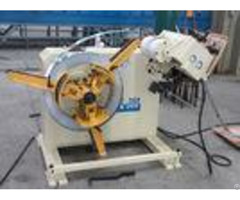 Coil Feed Line 2 In 1 Decoiler Strip Straightener Machine For Roll Material