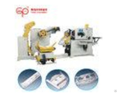Nc Servo Feeder Metal Sheet Straightening Machine 12 Months Warranty