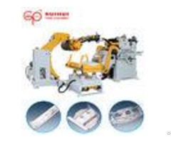 Automatic Coil Sheet Decoiler Straightener Feeder For Electric Hydraulic Hole Puncher