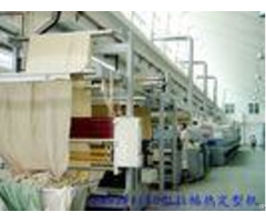 Conduction Oil Machine Woven Rugs Carpet Coating Production Line Steam 100 145