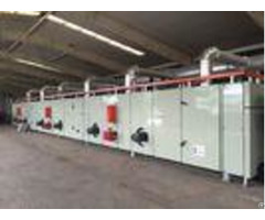 Gas Heating Digital Printing Equipment Drying And Coiling Printed Carpet