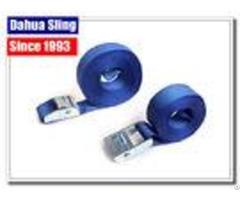 "1"" 5mm 1000kg Cam Buckle Straps With S Hook Endless Loop Ratchet Strap"