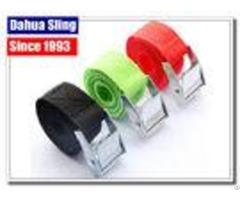 Durable Adjustable Camo Ratchet Straps Polyester Webbing Belt Heat Resistance