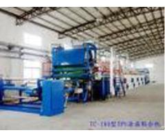 High Efficiency Uv Coating Machine Hot Air Circulation Drying Chamber
