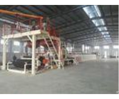 Automatic Tile Production Line Bitumen Backed Carpet Tiles Water Cooling Control