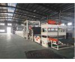 Carpet Tile Bitumen Production Line Or Continuous Operation Separate Cutting Control