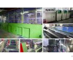 Knitting Non Woven Electrostatic Flocking Equipment Available Working Width 160cm