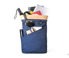 Laptop Backpack Weekender Travel Business Multipurpose Roll Top Fashion Rucksack