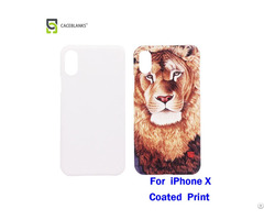 Factory Price High Quality Personalized Blank Film Printing 3d Sublimation Phone Case For Iphone10 X