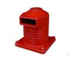 Red Color Switchgear Epoxy Resin Cast Bushing Heat Resistance 4000a 10kv