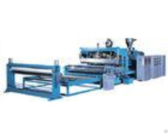 Twin Screw Plastic Extruder Pvb Cast Film Extrusion Machine With Siemens Brand Motor