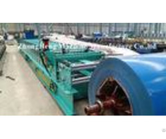 Cnc Steel Roofing Sheet Roll Forming Machine For Ppgi 0 3mm 0 8mm Roll Former
