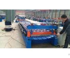 R Panel Roof Sheet Roll Forming Machine With Hydraulic Pump And Control Box
