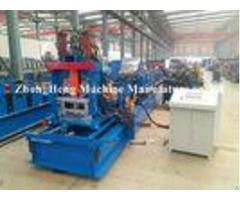 Steel Profile C Z Purlin Roll Forming Machine Hydraulic Motor 80mm 300mm Width