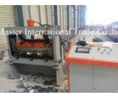 Automatic Sheet Metal Roll Former Machine For 1 2mm Floor Decking Material