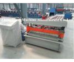 Colorful Metal Roofing Sheet Roll Forming Machine Q235 Computer Control