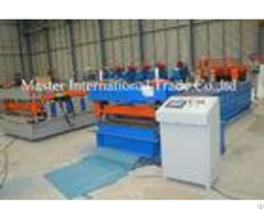 Roof Panel Corrugated Roll Forming Machine For Purlin 4kw 10 M Min Speed